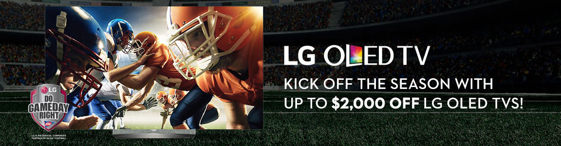 LG OLED TVs - save up to $2000