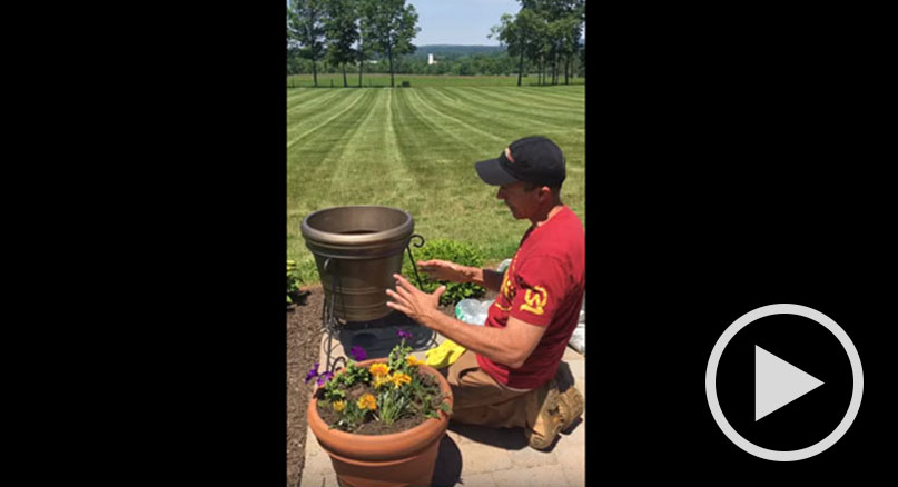 How to Set Up Outdoor Planter Speakers with Ron