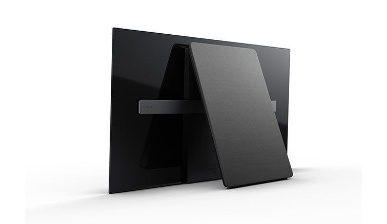 Sony OLED back view