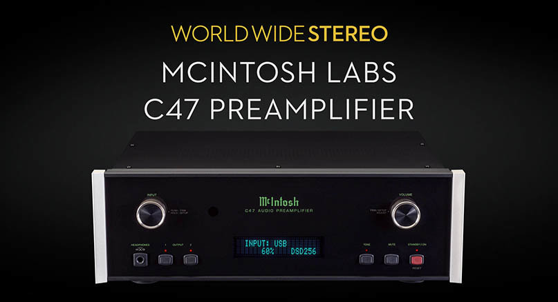 McIntosh C47 Stereo Preamplifier Product Tour