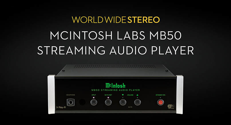 McIntosh MB50 Streaming Audio Player Product Tour