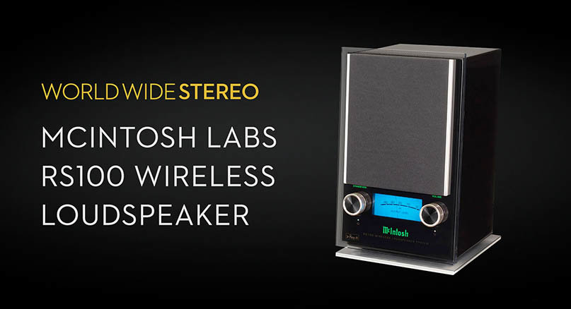 McIntosh RS100 Wireless Loudspeaker Product Tour