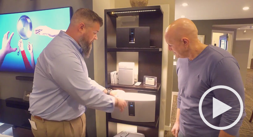 Tour the Bose SoundTouch 30 Music System with Bob Cole & Steve Morrison