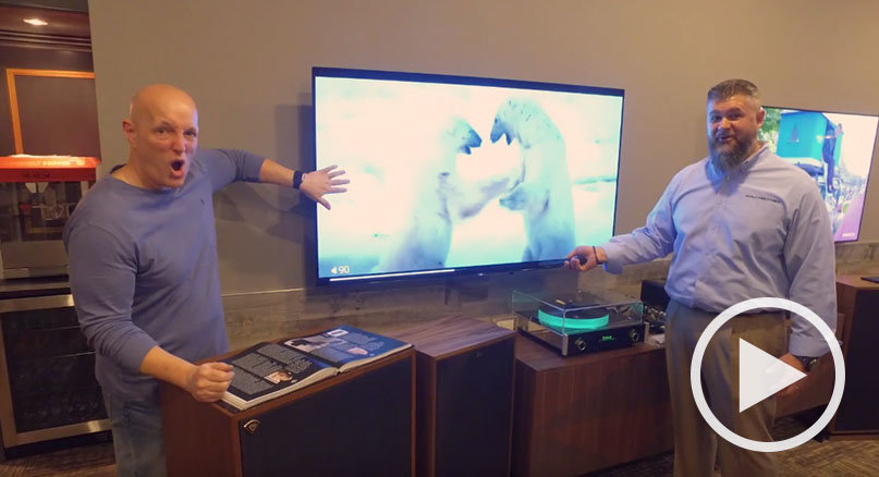 Talking Sony's A1E OLED TV with Bob Cole and WMMR's Steve Morrison