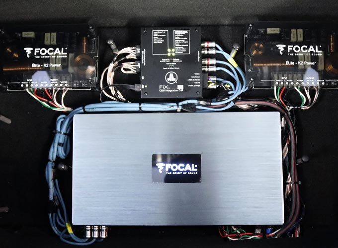 Car Stereo Amplifiers & Processors