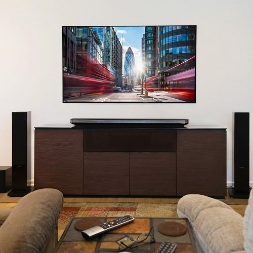 LG W7 Wallpaper TV and Bowers & Wilkins Speakers Installation
