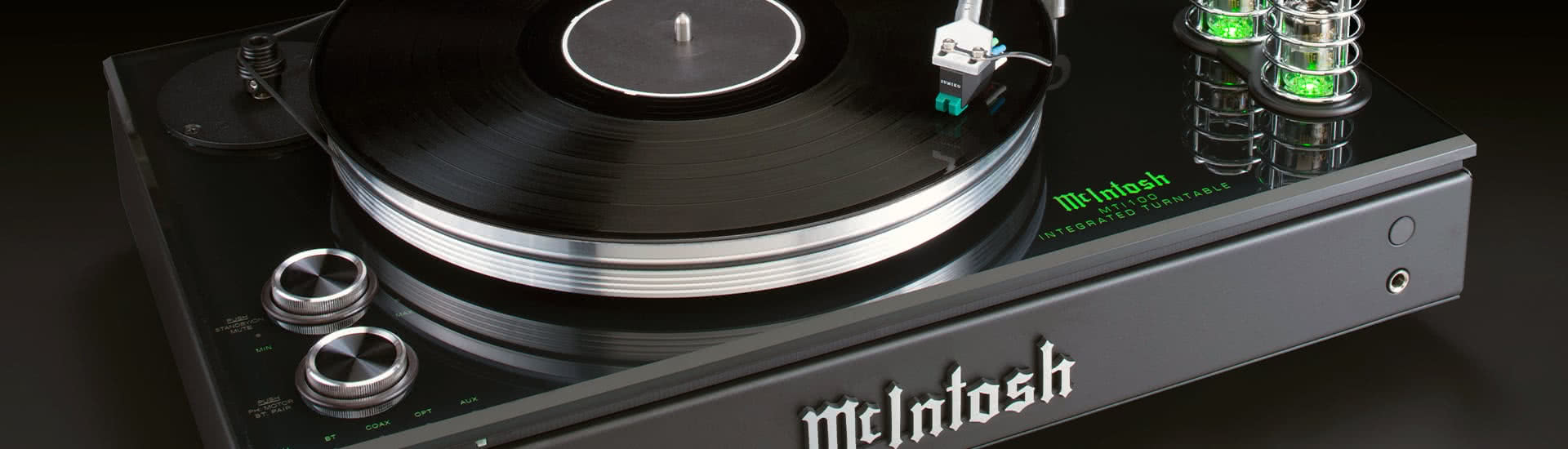 Review: McIntosh MTI100 Integrated Turntable