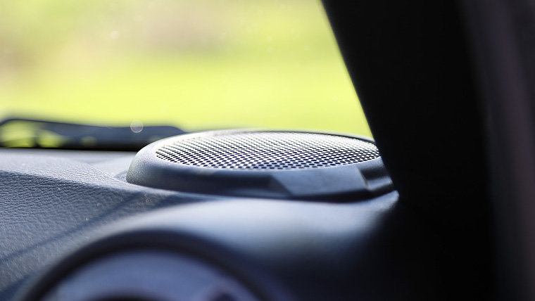 Focal PS 165 component speakers in the dash