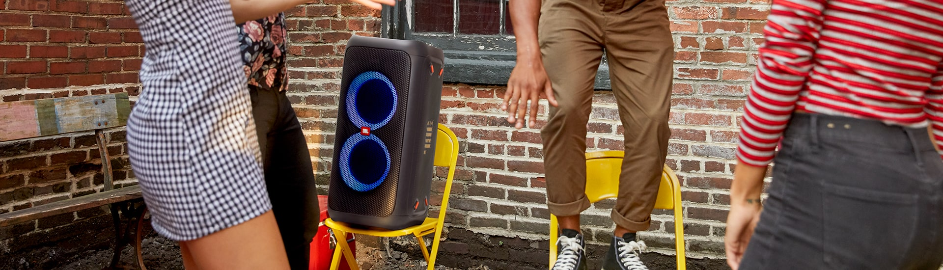 Review: JBL PartyBox 100 Bluetooth Speaker