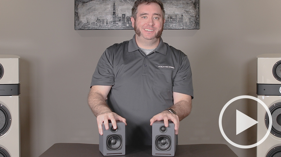 Review: Audioengine A1 Wireless Bookshelf Speakers