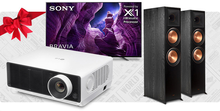Shop the Ultimate Movie Night Gift Guide for TVs, projectors, home theater speakers, and more