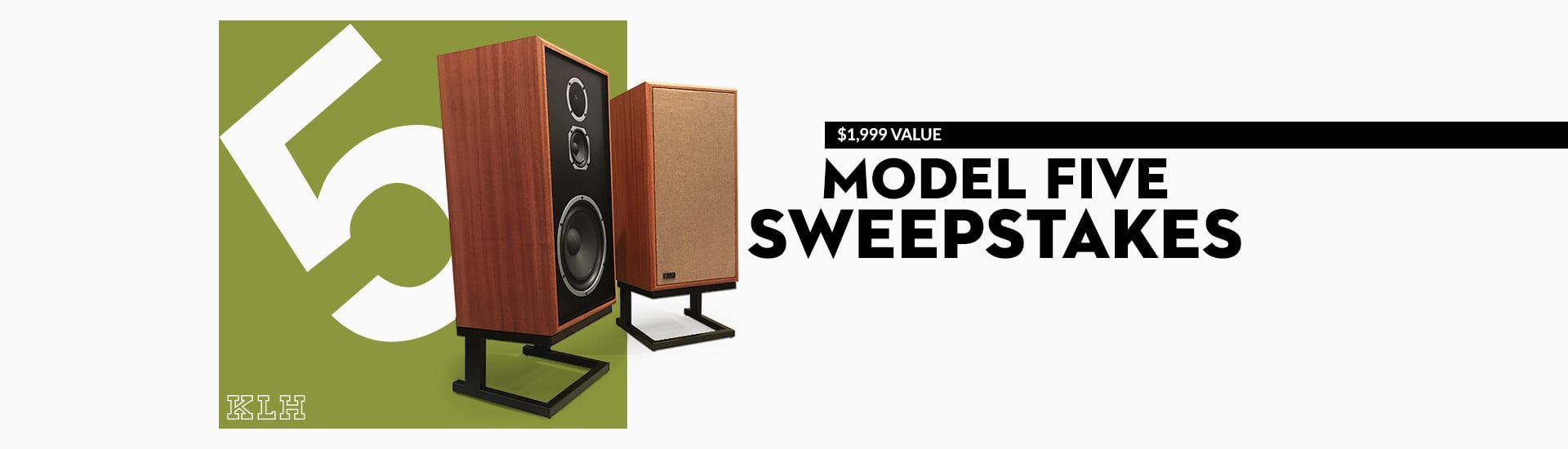 KLH Model Five Sweepstakes