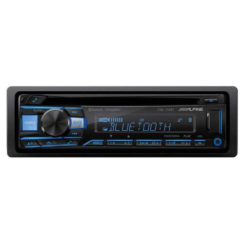 View Larger Image of CDE-172BT CD Receiver w/ Bluetooth and USB & AUX Inputs