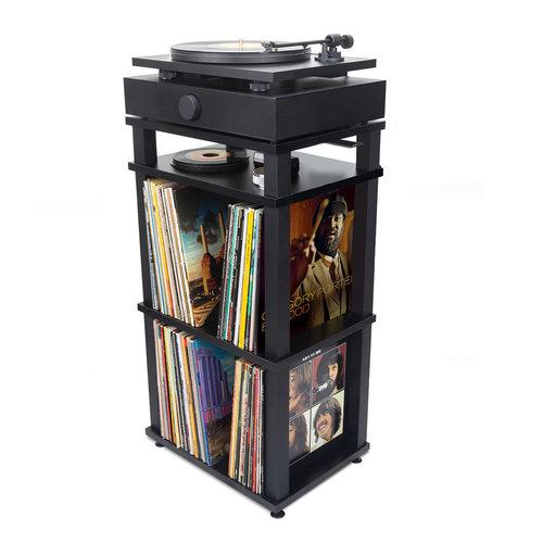 View Larger Image of SpinStand Audio Component & Record Rack