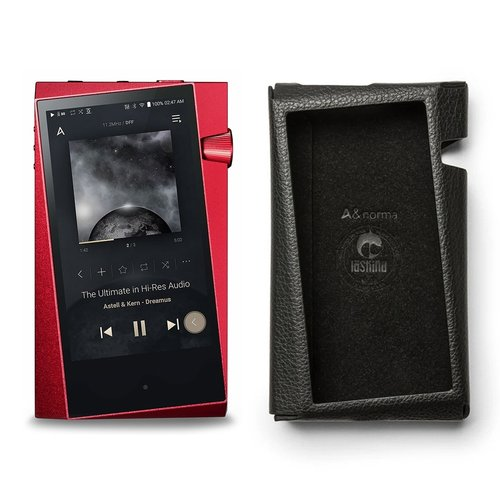 View Larger Image of SR25 Portable Music Player (Carmine Red) with Protective Case
