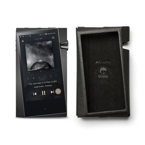 SR25 Portable Music Player (Onyx Black) with Protective Case