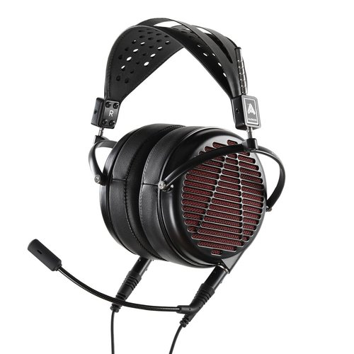 View Larger Image of LCD-GX Audiophile Over-Ear Gaming Headset (Red/Black)