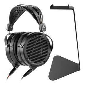 LCD-X Reference-Level Planar Magnetic Over-Ear Headphones with Kanto H1 Stand (Black)