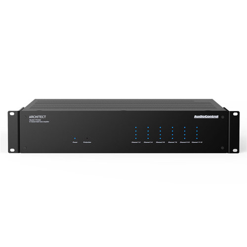 View Larger Image of Architect P2260 12-Channel Multi-Zone High-Power Amplifier (Espresso Black)