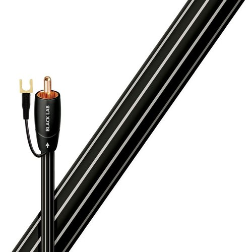 View Larger Image of Black Lab RCA Male to RCA Male Subwoofer Cable - 39.37 ft. (12m)