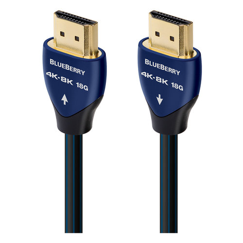 View Larger Image of BlueBerry 4K-8K 18Gbps HDMI Cable - 7.38 ft. (2.25m)