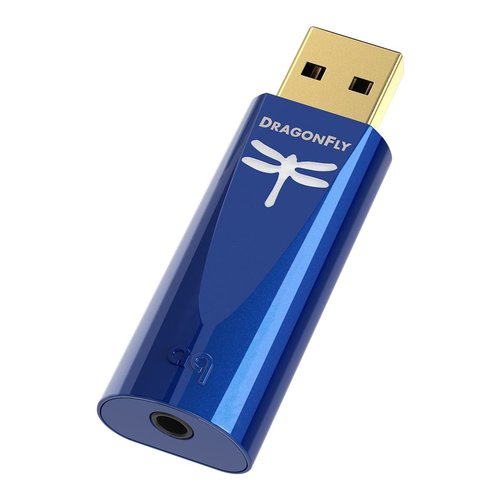 View Larger Image of DragonFly Cobalt USB Digital-to-Analog Converter