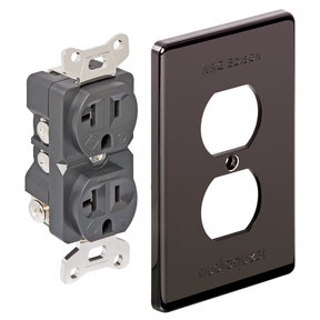 NRG Edison Duplex 15 AMP Wall Outlet