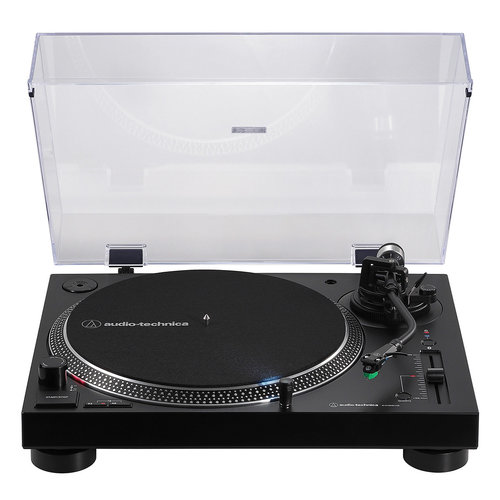 View Larger Image of AT-LP120XBT-USB Wireless Direct-Drive Turntable with Bluetooth