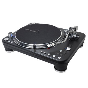 AT-LP1240-USB XP Direct-Drive Professional DJ Turntable (Black)