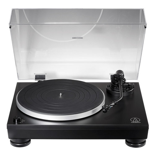 View Larger Image of AT-LP5X Fully Manual Direct Drive Turntable (Black)