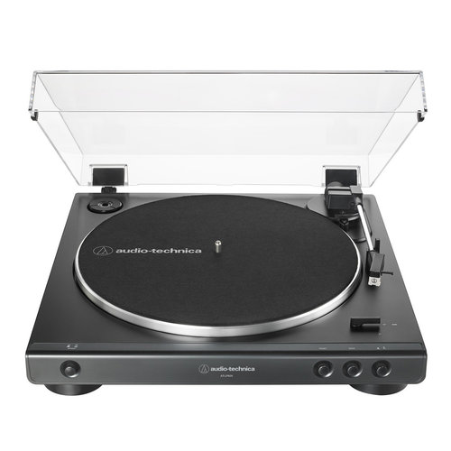 View Larger Image of AT-LP60X Fully Automatic Belt-Drive Stereo Turntable