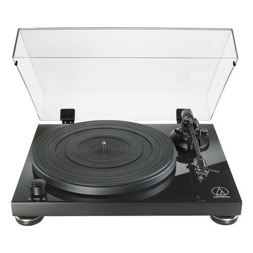 View Larger Image of AT-LPW50PB Fully Manual Belt-Drive Turntable (Piano Black)