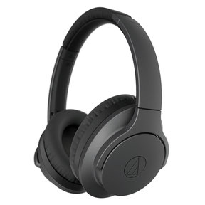 ATH-ANC700BTBK QuietPoint Wireless Active Noise-Cancelling Headphones with Built-In Controls (Black)
