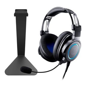 ATH-G1 Premium Gaming Headset with Kanto H1 Stand (Black)