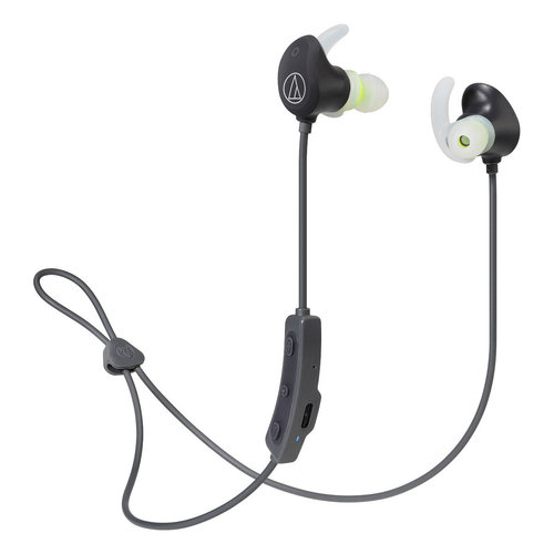 View Larger Image of ATH-SPORT60BT Wireless Earbuds (Black)