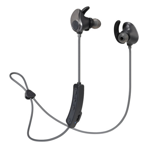 View Larger Image of ATH-SPORT90BT Wireless Earbuds (Black)