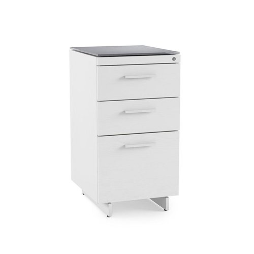 View Larger Image of CENTRO 6414 3-Drawer File Cabinet (White)