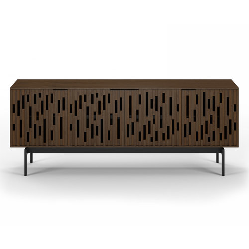 View Larger Image of Code 7379 Storage Console & Media Cabinet (Toasted Walnut)