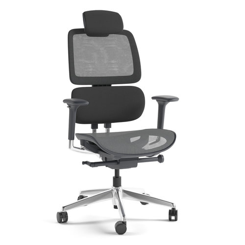 View Larger Image of Voca 3501 Office Chair (Slate)