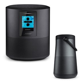 Home Speaker 500 with SoundLink Revolve+ Bluetooth Speaker (Black)
