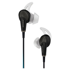 QC20 QuietComfort 20 Acoustic Noise-Canceling Earbuds for Samsung/Android Devices (Black)
