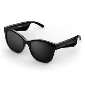 Soprano Cat-Eye Bluetooth Audio Sunglass Frames (Black)