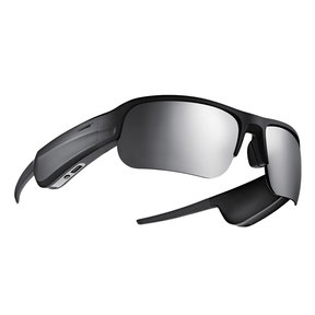 Tempo Sports Bluetooth Audio Sunglass Frames with Polarized Lenses (Black)