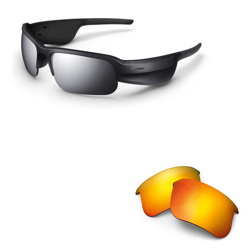 View Larger Image of Tempo Sports Bluetooth Audio Sunglass Frames with Replacement Lenses (Road Orange)