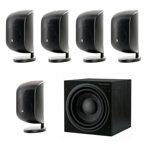 View Larger Image of 5.1 Channel Satellite Speaker Package