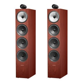 702 S2 Floordstanding Speakers - Pair (Rosenut)