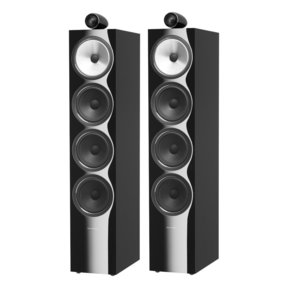 702 S2 Floorstanding Speaker - PAIR (Gloss Black)