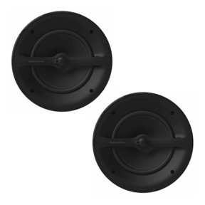 "Marine 2-Way 8"" Loudspeakers - Pair (Black)"