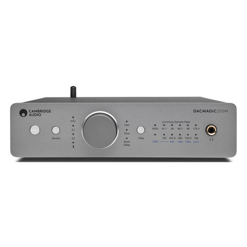 View Larger Image of DacMagic 200M Digital-to-Audio Converter and Preamplifier with Bluetooth aptX (Lunar Grey)
