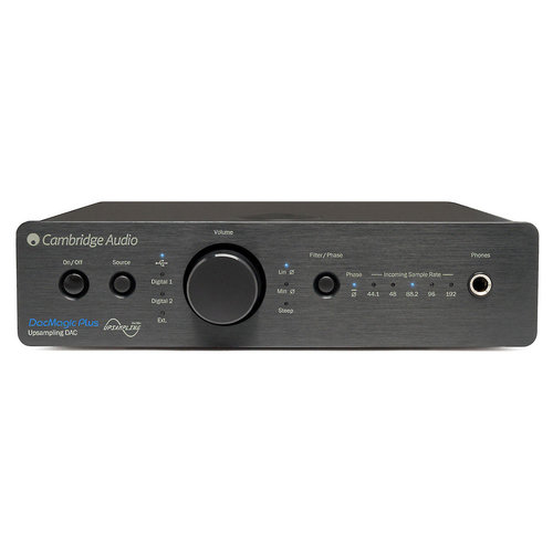 View Larger Image of DacMagic Plus Digital to Analogue Converter and Preamplifier